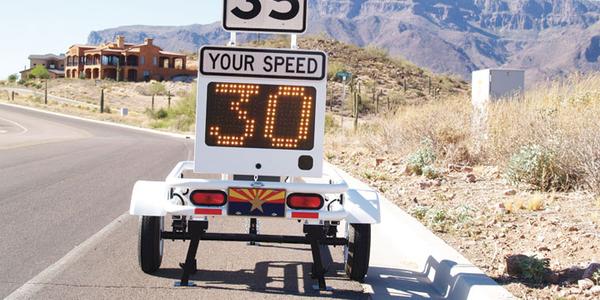 Smart 650 Radar Speed Trailer