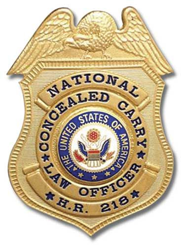 Concealed Carry Badge