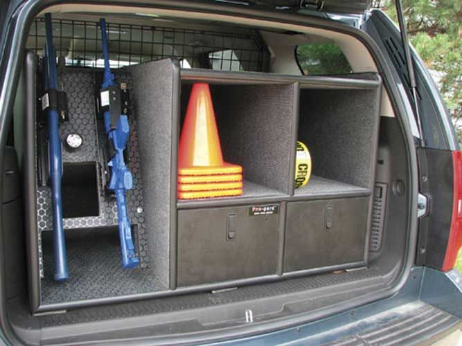 SUV Cargo Cabinet