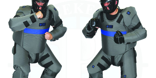Peacekeeper DT Suits include head protection with removable face guards and are available in...
