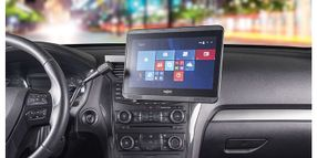 Touch Screen Display and Dash Mounts