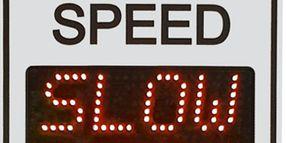 TC-600 Speed Display Sign