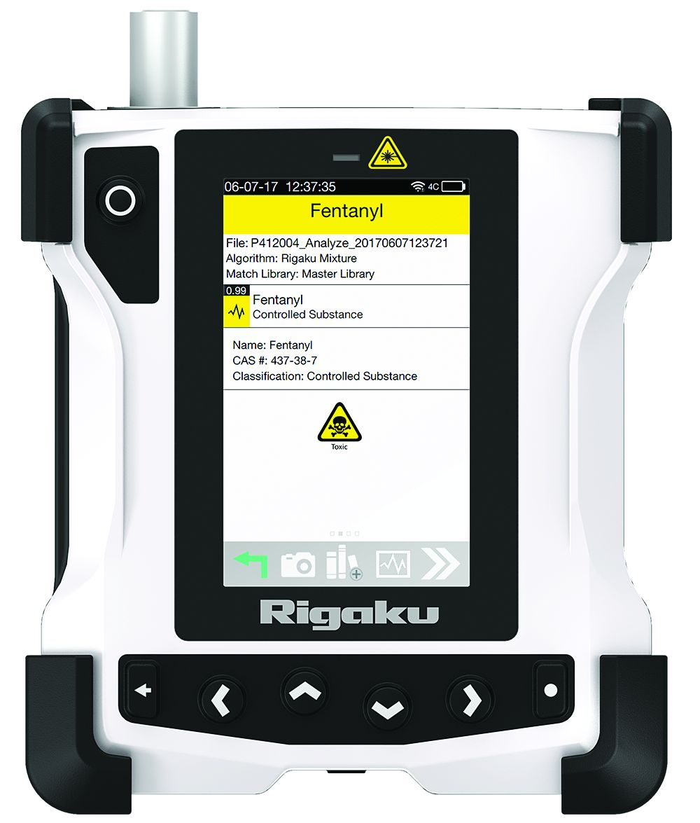 Handheld Raman Analyzer