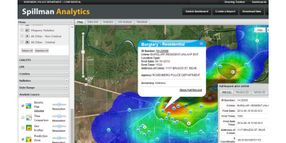 Fully integrated, map-based analytics
