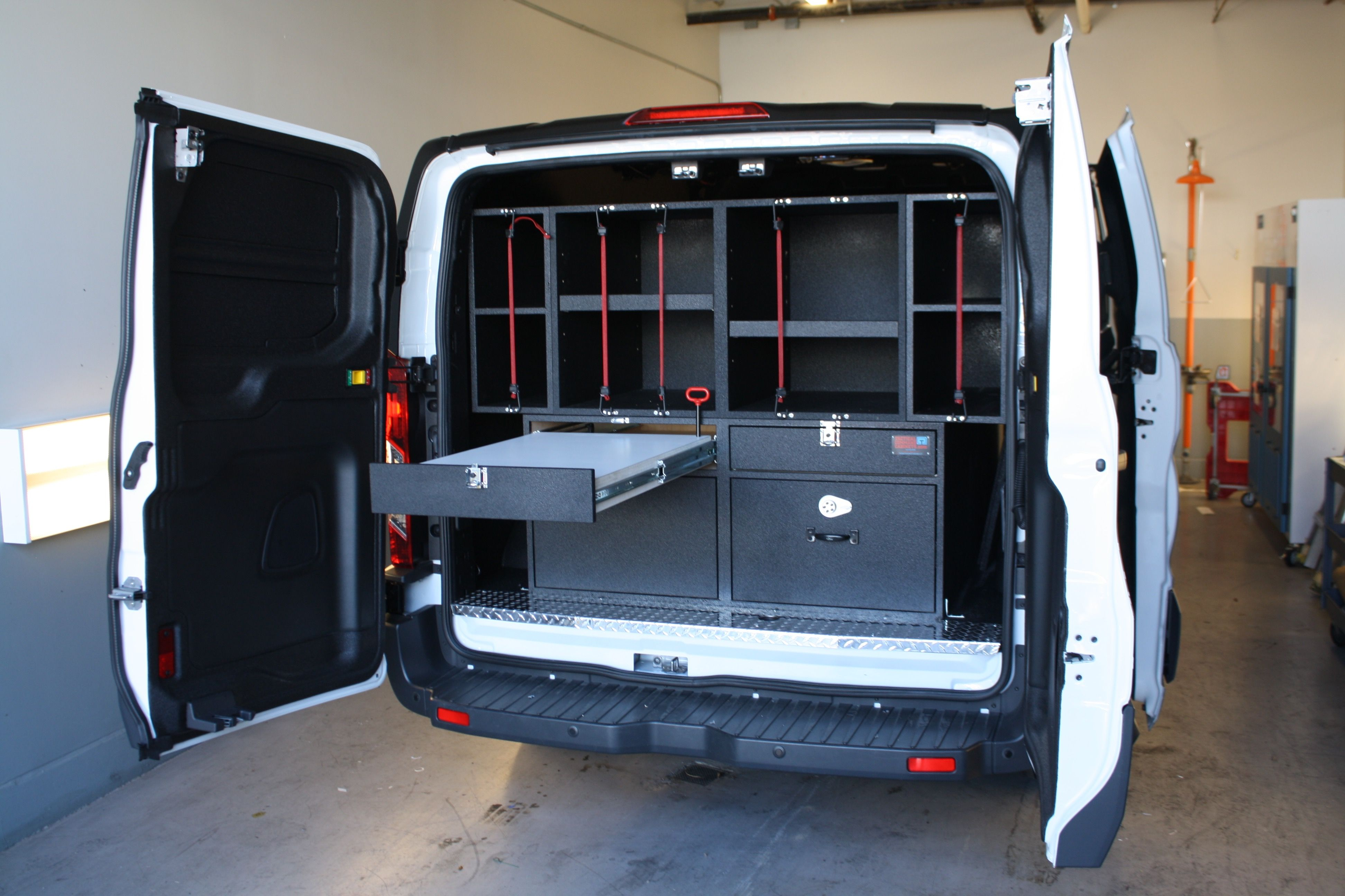 Custom Vehicle Storage