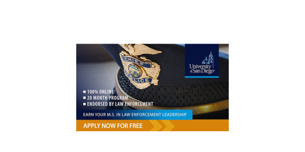 University of San Diego M.S. in Law Enforcement