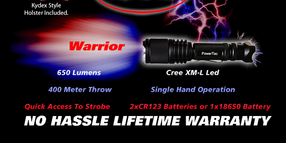 Warrior Flashlight