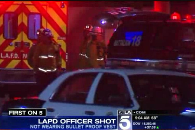 LAPD Station Shooting Update: Wounded Officer Not Wearing Vest