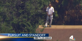 L.A. Gunman Surrenders After SWAT Standoff, High-Speed Pursuit