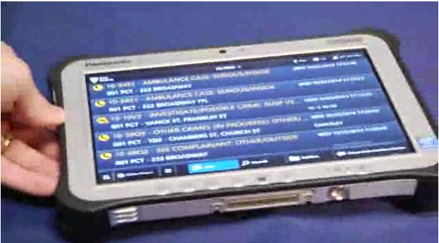 NYPD Squad Cars to Get Panasonic Tablets