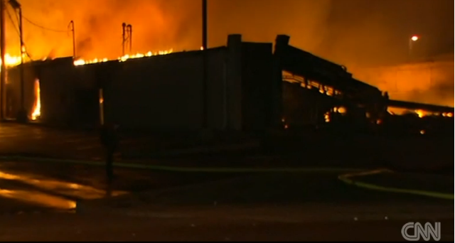 Ferguson Erupts in Riots, Burning, Looting