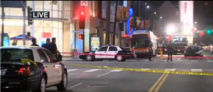 L.A. Police Shoot, Kill Knife-Wielding Man in Hollywood