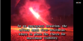 How to Deploy Highway Flares