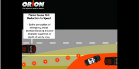 Orion Safety Products Can Create a Flare Safety Zone