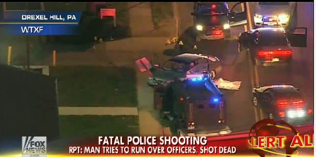 Pa. Man Killed Tried to Run Over Officers, Posted Online Threats
