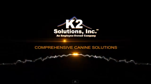 K2 Solutions Provides Law Enforcement Canines, Training