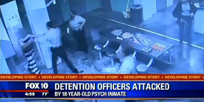 Inmate Attack Sends Three Arizona Officers to the Hospital
