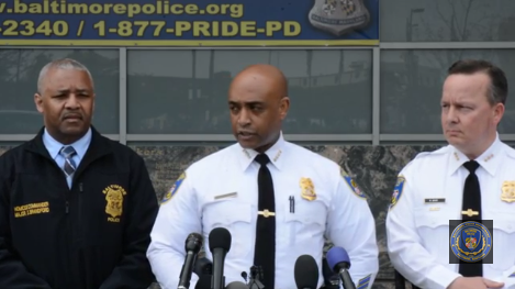 Baltimore PD Hands Over Gray Case to State's Attorney