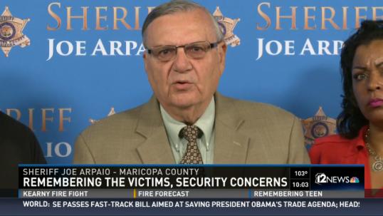 Arizona's Sheriff Joe Arpaio to Send Armed Volunteers to Protect Churches
