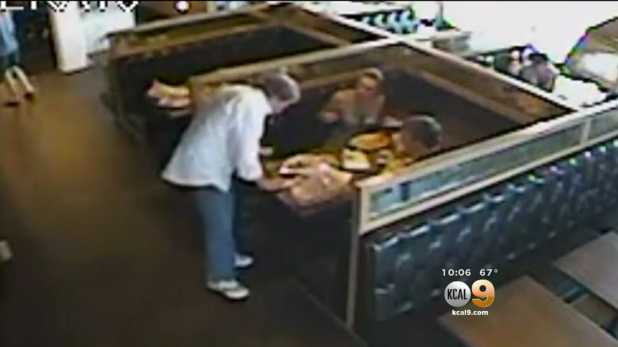 LAPD Officer Saves Man Choking Inside Restaurant