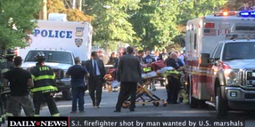 New York Ex-Con Shot Firefighter, Set Home on Fire as Federal Marshals Came to Arrest Him