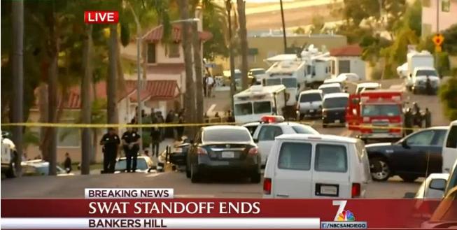 San Diego Standoff Shuts Down Airport