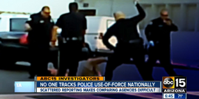Police Use-Of-Force Data Scattered, DOJ Wants to Standardize Reporting