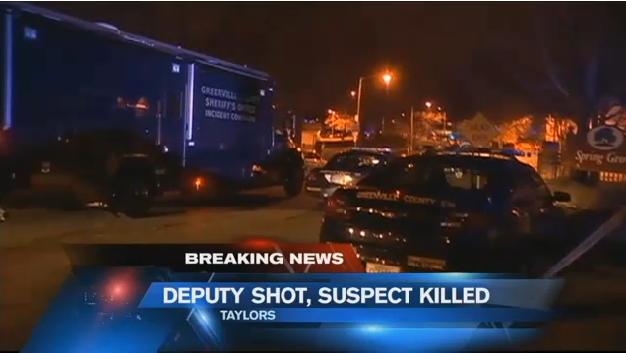South Carolina Deputy Shot in Head, Suspect Killed