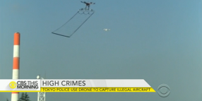 Tokyo Police Plan to Fight Drones with Drones