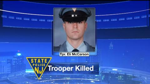 New Jersey Trooper Killed in Single-Car Crash