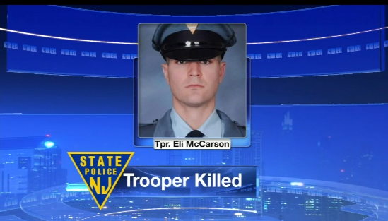 New Jersey Trooper Killed in Single-Car Crash