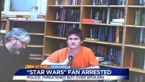 Montana Man Jailed After Threatening to Shoot Boy Over 'Star Wars' Spoiler
