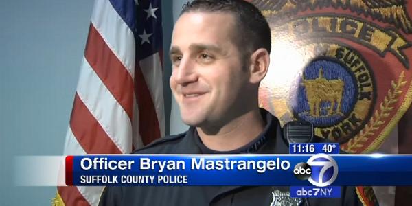 New York Officer Saves Choking Woman
