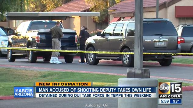 Suspect in Shooting of Arizona Deputy Kills Himself in Front of Detectives
