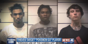 Suspects Charged With Using 'Pokemon Go' to Commit Armed Robberies