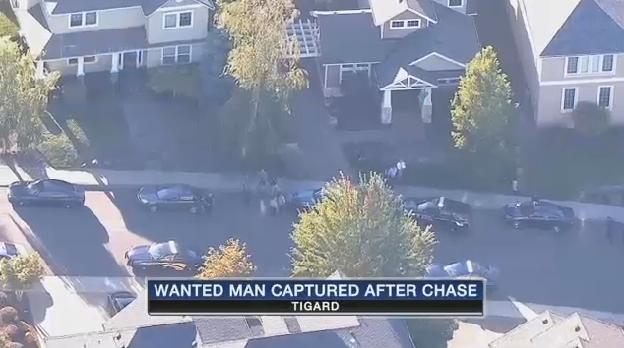 Man Pepper Sprays OR Trooper, Breaks Into 3 Homes While Fleeing Police