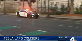LAPD Equipping Tesla Sedan as Patrol Vehicle
