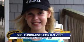 10-Year-Old Skips Birthday Presents to Buy VA K-9 Vest