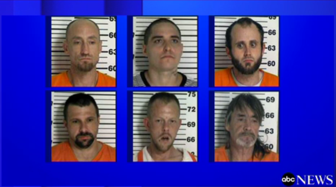 Police Searching for 4 Tennessee Inmates After Christmas Day Escape