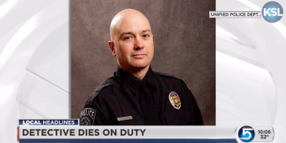 Utah Officer Dies of Medical Condition on Duty