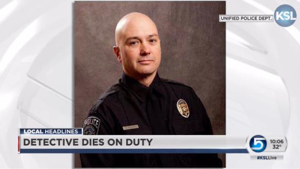 Utah Officer Dies of Medical Condition on Duty
