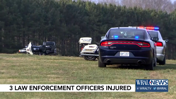 2 NC Officers, Deputy Injured in Motorcycle Crash During Training Exercise