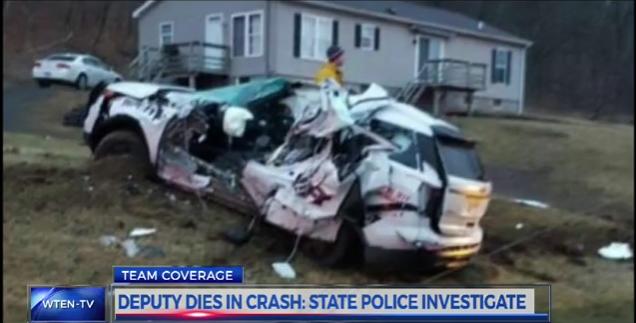 NY Deputy Killed in Patrol Vehicle Accident
