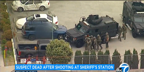 Suspect Opens Fire on Deputies at CA Sheriff's Station