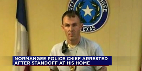 TX Police Chief Arrested After Standoff at His Home