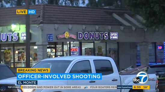 CA Police Shoot Knife-Wielding Man Demanding Coffee, Donuts