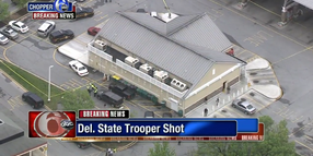 DE State Police Trooper Shot and Killed; Suspect Barricaded