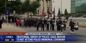 Dallas Police Union Tells Mayor He's Not Welcome at Memorial Ceremony