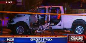 Truck Strikes, Seriously Injures 2 DC Bicycle Officers
