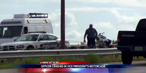 CO Motor Officer Injured in Crash Escorting VP Pence's Motorcade